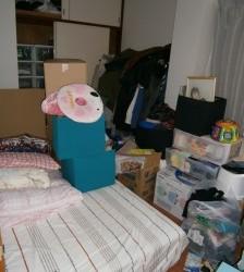 守山区の1Kの部屋のゴミ回収