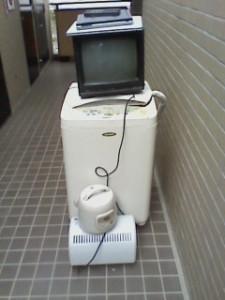 洗濯機 TV 炊飯器 処分