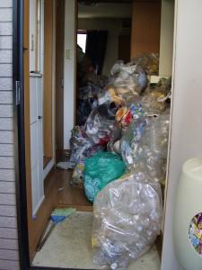 名古屋市千種区でゴミ屋敷の処分を一番安く、当日回収しました。