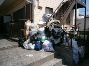 激安名古屋でゴミ回収