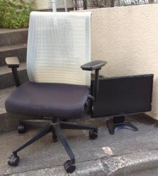 名古屋市 北区 椅子処分 PC処分 安く処分するならラビットイヤーにお電話下さい!