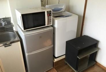 激安 昭和区 名古屋市 安い 冷蔵庫処分 洗濯機処分 TV台処分 電子レンジ処分 名古屋で一番安い不用品回収はラビットイヤー